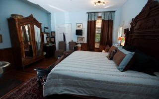 Library Guest room at the Inn on Poplar Hill