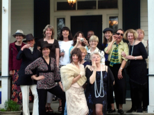 Murder Mystery party at the inn on Poplar Hill bed and breakfast VA