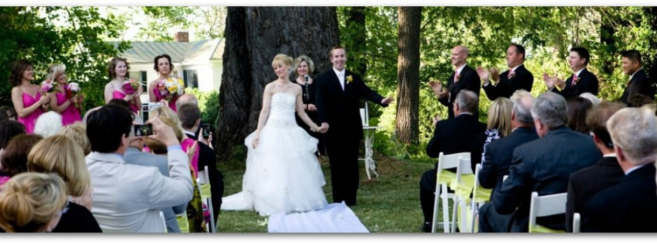 Garden Wedding at the Inn On Poplar Hill