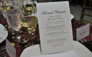 Keswick Wine Dinner