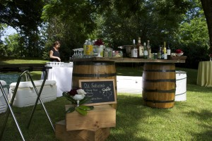 Bar at Budget Virginia Wedding Venue