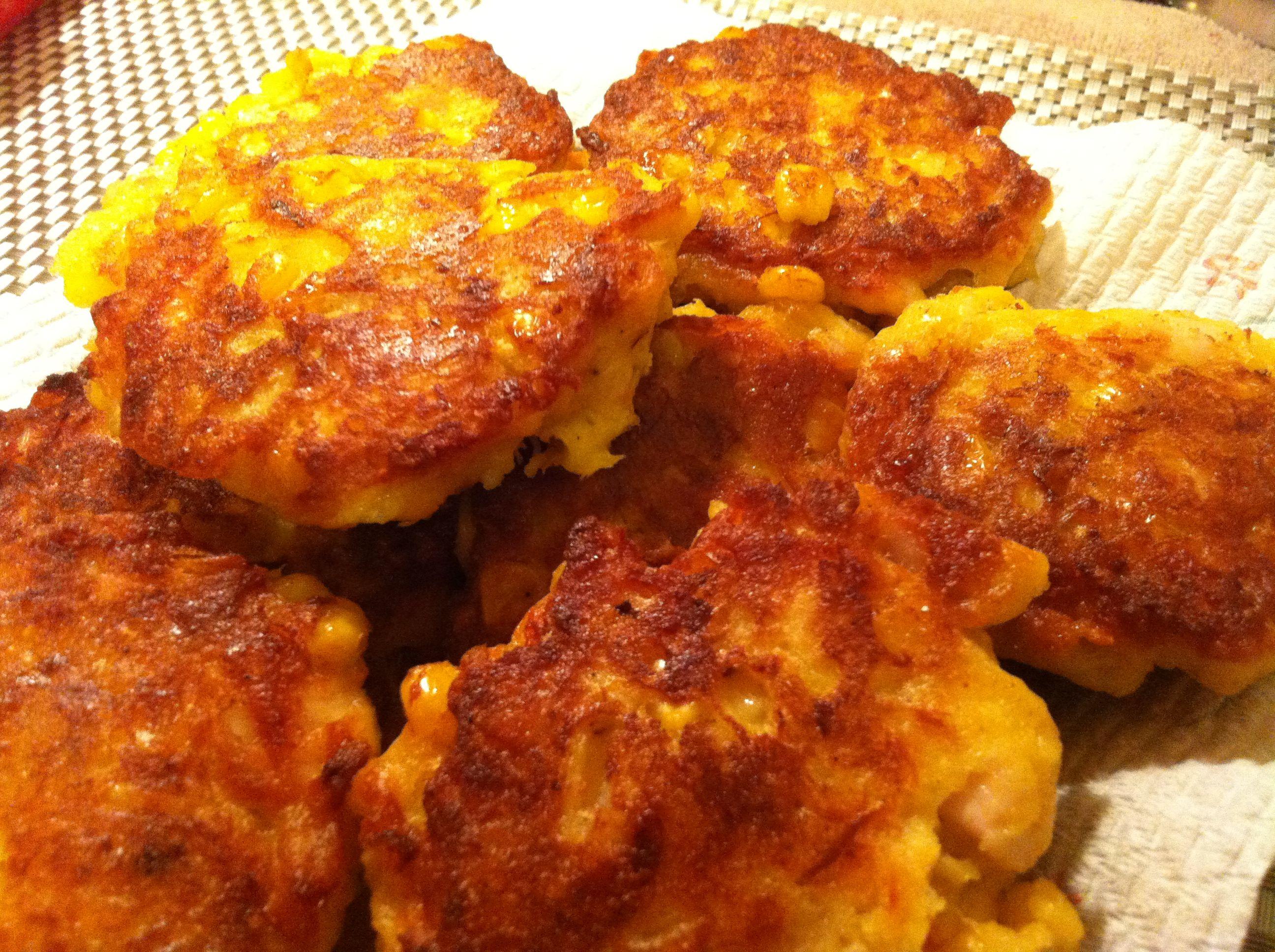 corn fritter recipe