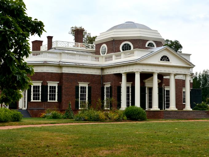 Monticello home of Thomas Jefferson
