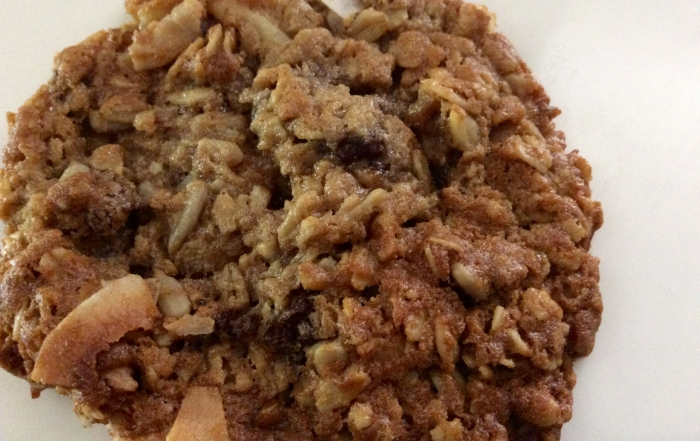 Oatmeal + Cookie